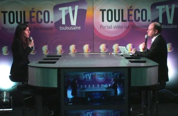 Interview d'Ana Monreal sur la chaîne Touléco TV