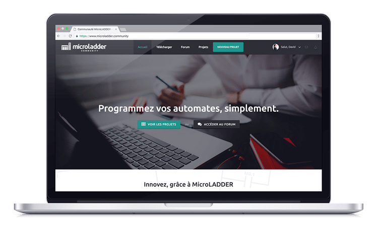 microladder-community-homepage