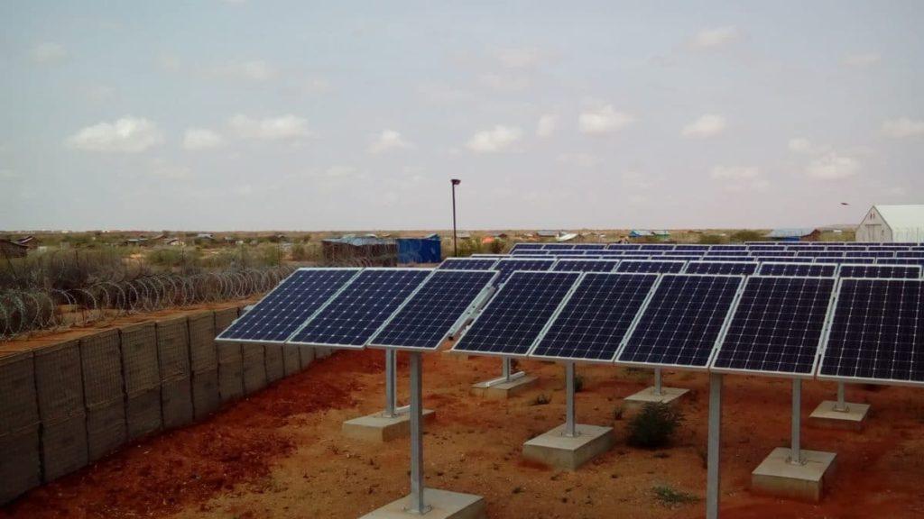 Champ photovoltaïque WFP Dolo Ado