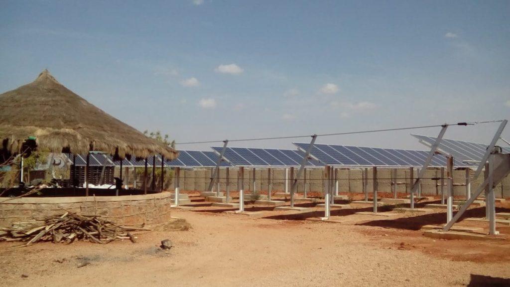 Installation photovoltaïque WFP Dolo Ado