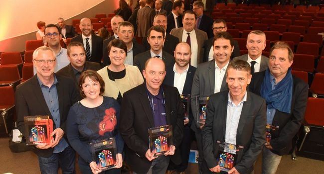 Companies rewarded at the Septuors 2017 ceremony