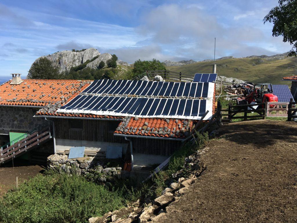 Bache photovoltaïque pour le projet Hy-Powerbox