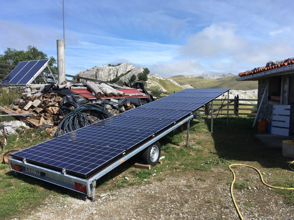 Remorque photovoltaïque pour le projet Hy-Powerbox