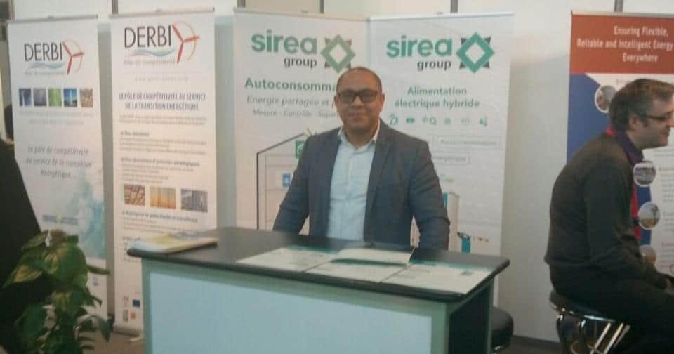 Sylvain Robinson de Sirea au salon EnerGaïa 2017