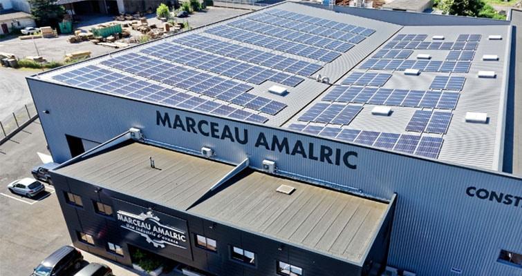 Toiture photovoltaïque chez Marceau-Amalric
