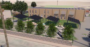 Visuel 3D de l'installation sur le site de Castres