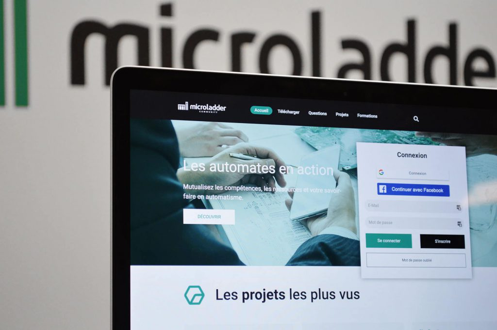 La nouvelle version du site MicroLADDER Community