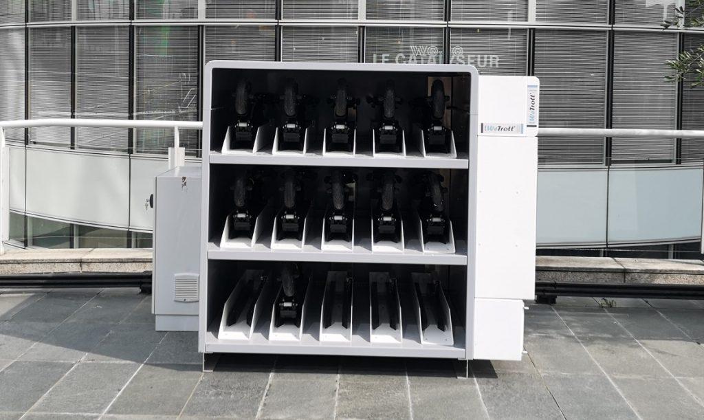 WeTrott' autonomous charging station