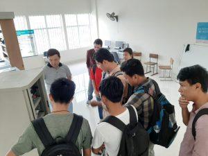 Visite de l'usine-école de Sirea à l'ITC lors de la Clean Energy Week 2019