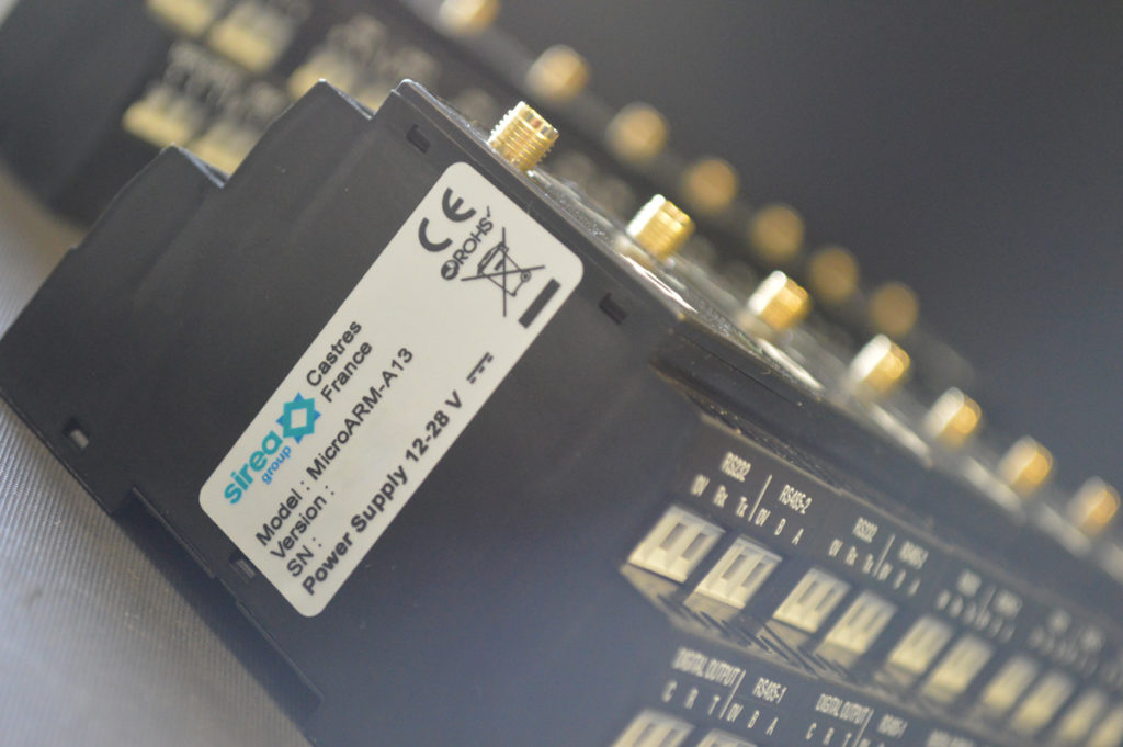 Production of Sirea MicroARM-A13 range PLCs